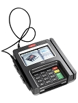 Tyler/Automated Merchant Systems/TSYS Processor Bundle  ISC TOUCH 250 COLOR, EMV, SMART CARD, CONTACTLESS  SPECIFICALLY CONFIGURED FOR Tyler Technologies - INCLUDES CABLES, POWER SUPPLY, ALL FILE LOADS AND ENCRYPTION KEYS
